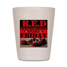 R.E.D Friday Shot Glass
