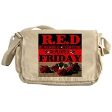 R.E.D Friday Messenger Bag