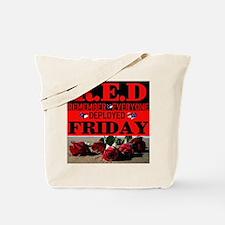 R.E.D Friday Tote Bag