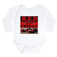 R.E.D Friday Long Sleeve Infant Bodysuit