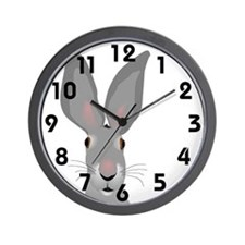 Whats Up Wall Clock