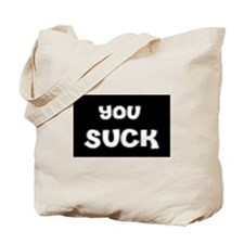 Funny Hate you Tote Bag
