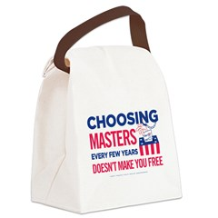 Choosing Masters Canvas Lunch Bag