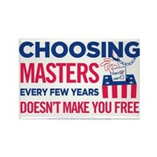 Choosing Masters Rectangle Magnet (100 pack)
