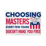 Choosing Masters Rectangle Magnet (10 pack)