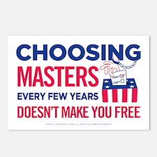 Choosing Masters Postcards (Package of 8)