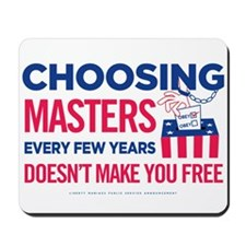 Choosing Masters Mousepad