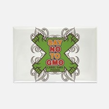 Say No to GMO Rectangle Magnet