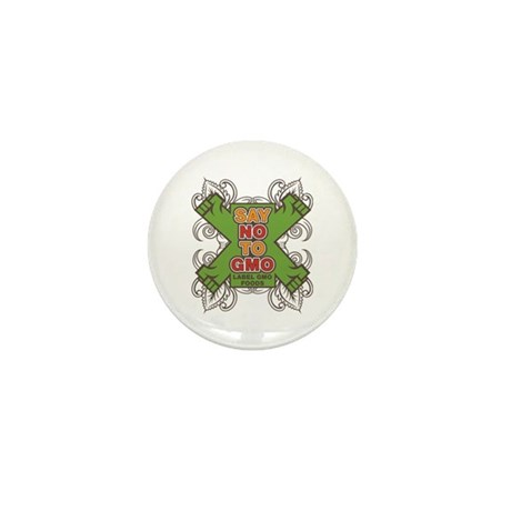Say No to GMO Mini Button (100 pack)