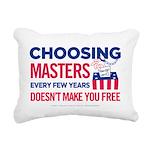 Choosing Masters Rectangular Canvas Pillow