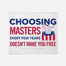 Choosing Masters Throw Blanket