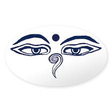 Buddha Wisdom Eyes Decal