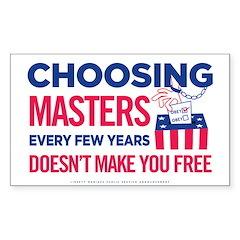 Choosing Masters Decal