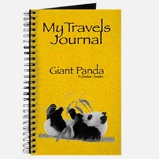 Giant Panda My Travels Journal