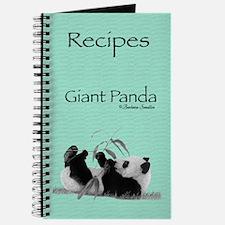 Giant Panda Recipes Journal