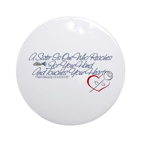 PoliceWives 2012 Ornament (Round)