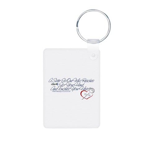 PoliceWives 2012 Aluminum Photo Keychain