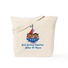 40th Anniversary Sailing Tote Bag