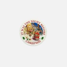 Christmas Eve At The North Pole Mini Button