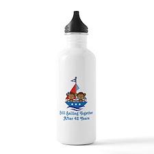 42nd Anniversary Sailing Water Bottle