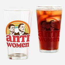 Anti Women Drinking Glass