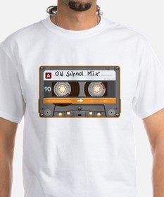 Old School Mix Cassette Tape T-Shirt