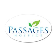 Passages Hospice Logo Wall Decal