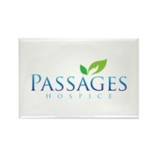 Passages Hospice Logo Rectangle Magnet (10 pack)