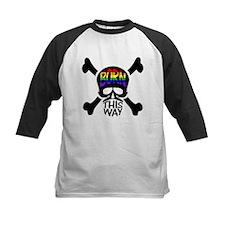 Black Rainbow Born This Way Skull & Crossbones Kid