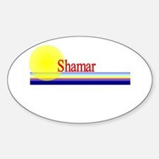Shamar Oval Decal