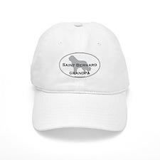 Saint Bernard GRANDPA Baseball Cap