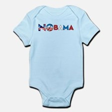 Say NO to Obama 2012 Infant Bodysuit