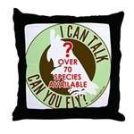 ictcyf Throw Pillow