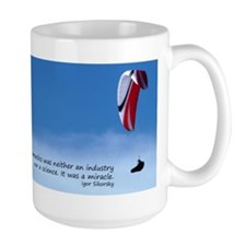 Aviation miracle large mug