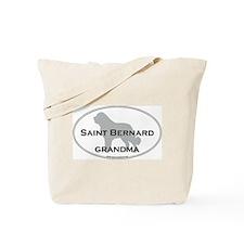 Saint Bernard GRANDMA Tote Bag