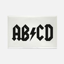 ABCD Kids' Shirt Rectangle Magnet
