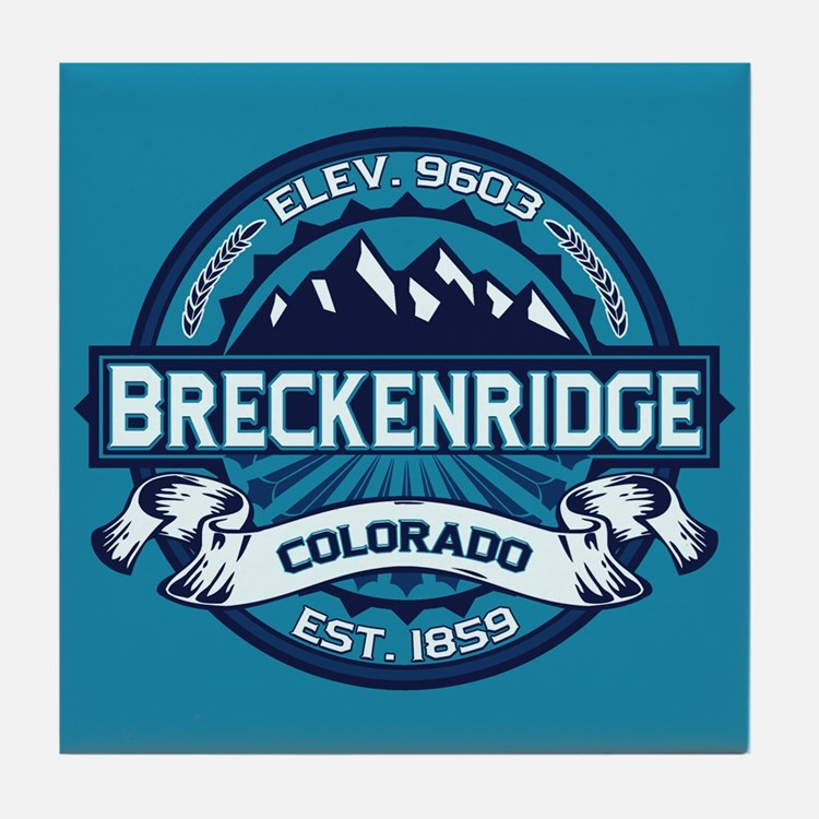 Breckenridge Ice Tile Coaster