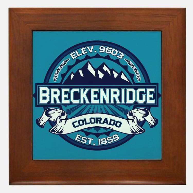 Breckenridge Ice Framed Tile