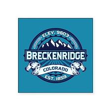 """Breckenridge Ice Square Sticker 3"""" x 3"""""""
