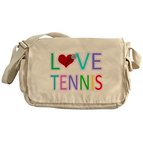 Love TENNIS Messenger Bag