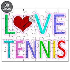 Love TENNIS Puzzle