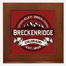 Breckenridge Red Framed Tile