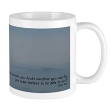 Never doubt you can fly mug
