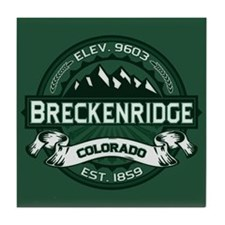Breckenridge Forest Tile Coaster