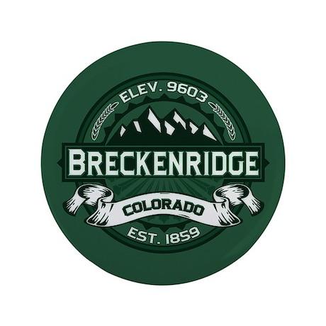 """Breckenridge Forest 3.5"""" Button"""