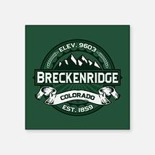 """Breckenridge Forest Square Sticker 3"""" x 3"""""""