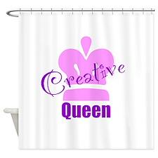 Creative Queen Shower Curtain