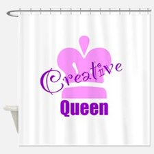 Creative Queen Shower Curtain