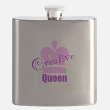 Creative Queen Flask