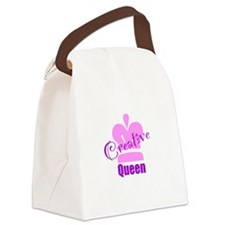 Creative Queen Canvas Lunch Bag